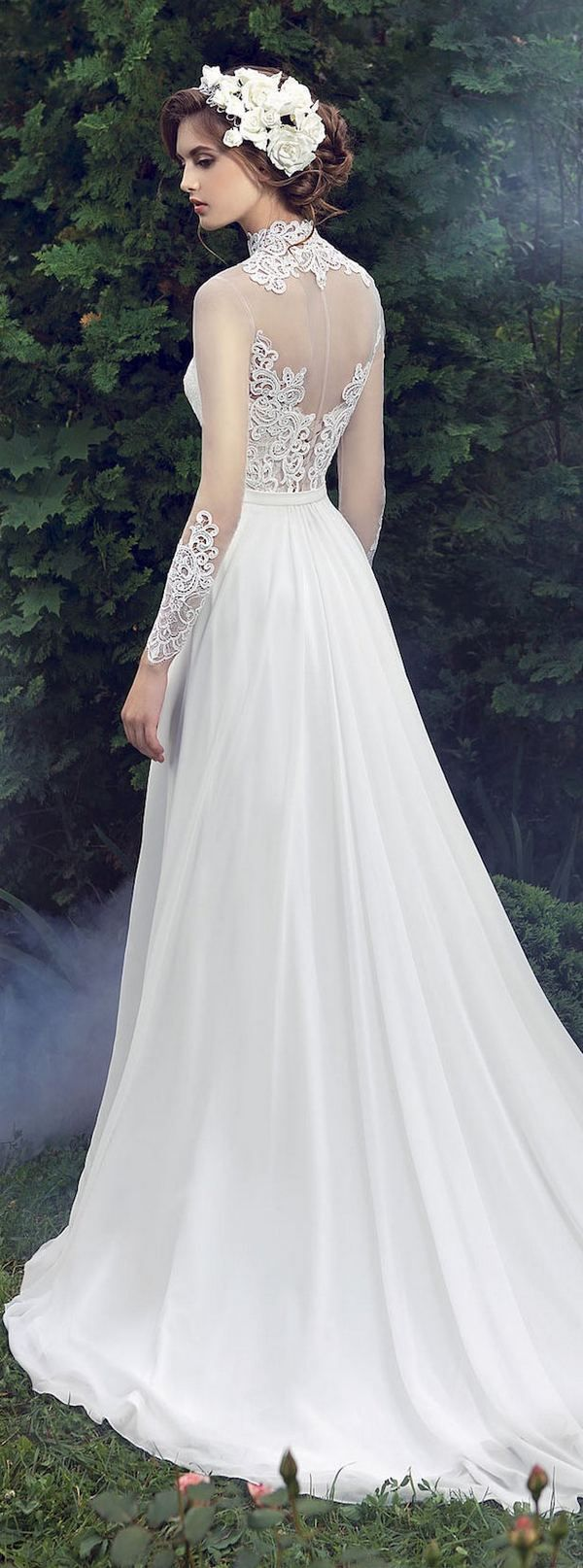 Milva 2016 Wedding Dresses Fairy Garden Collection / http://www.deerpearlflowers.com/milva-wedding-dresses/17/