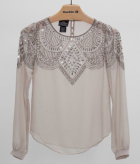 Angie Embellished Top - Women's Shirts/Tops | Buckle