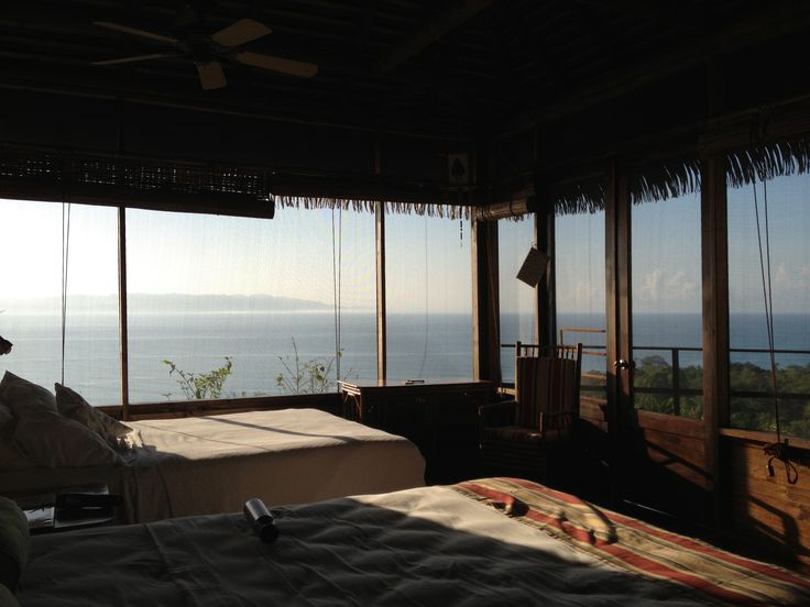 View of the South Pacific from my Bungalo at Lapa Rios in Costa Rica