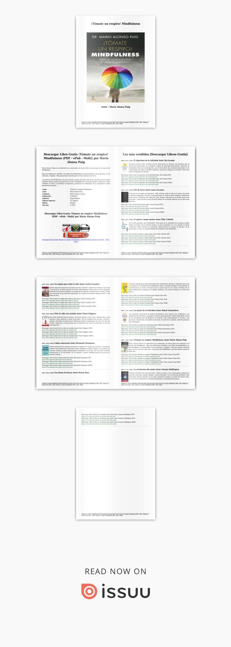 tómate un respiro mindfulness pdf descargar gratis