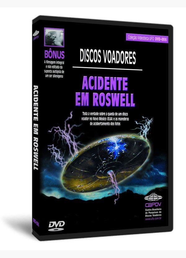 ACIDENTE EM ROSWELL  Saiba o que ocorre quando os UFOs caem com seus tripulantes. Toda a verdade sobre a queda de um disco voador no Novo México (EUA) e as manobras de acobertamento dos fatos. Ganhe de bônus a filmagem integral e não editada da suposta autópsia de um ser alienígena.  Trailer: https://youtu.be/nzCqho0-3Gg Compre Aqui: http://ufo.com.br/loja/videoteca/ver/acidente-em-roswell