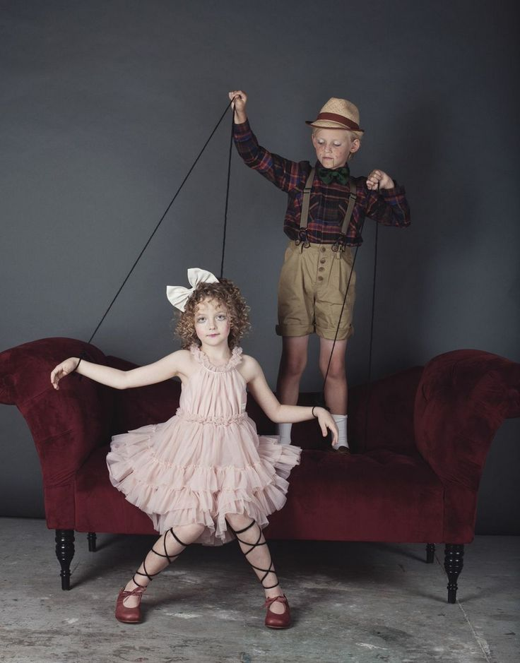 Marionette - Dress DOLLY by Le Petit Tome Shoes by Nathalie Verlinden, hair bow…