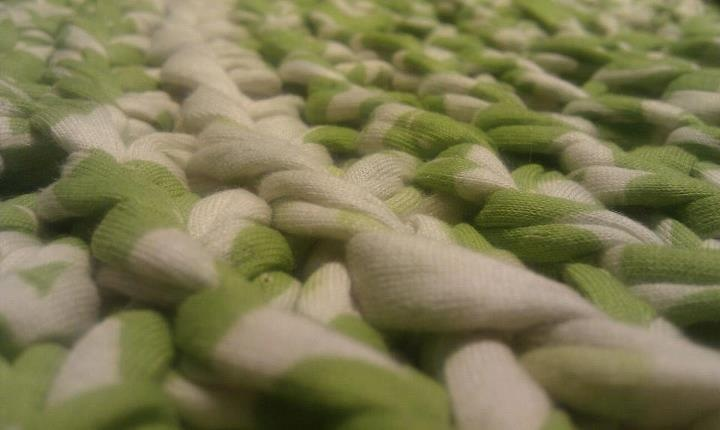 Crochet, Lime and creme zpagetti