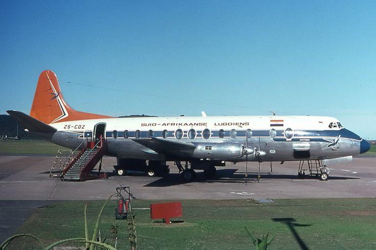 SAA Viscount Durban 1967