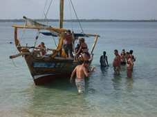 One of the most popular coastal sea and land excursion 1 full day wasini dhow safari.    A regular excursion that includes snorkeling at the Kisite Mpunguti marine park.    The Wasini dhow safari is a fun and discovery land and sea excursion operated as a group excursion safari.  http://www.naturaltoursandsafaris.com/kenya_safaris.php