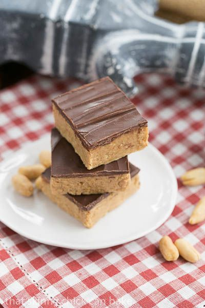 Homemade Reese's Bars---you'll love these no-bake babies!!!