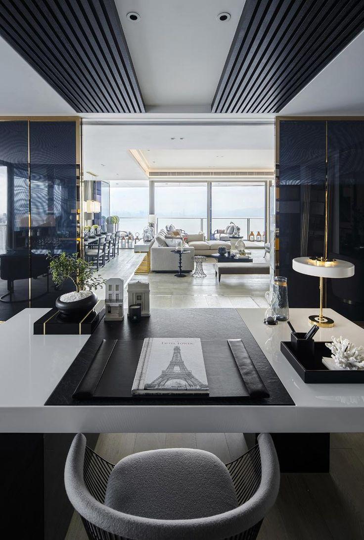 Kelly Hoppen | A great space with mystery and elegance | www.bocadolobo.com | #kellyhoppen #luxury #luxurydesign