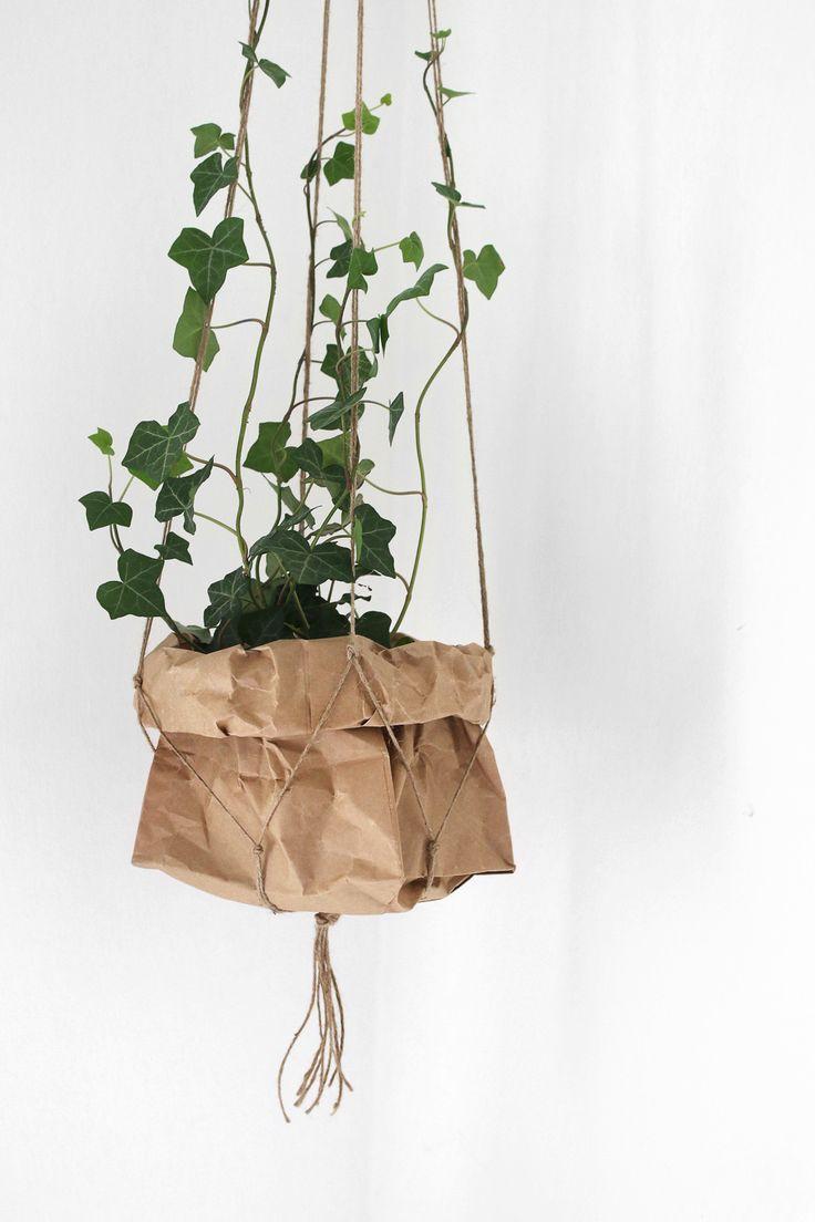 DIY planteophæng / plant hanger || Katarina Natalie