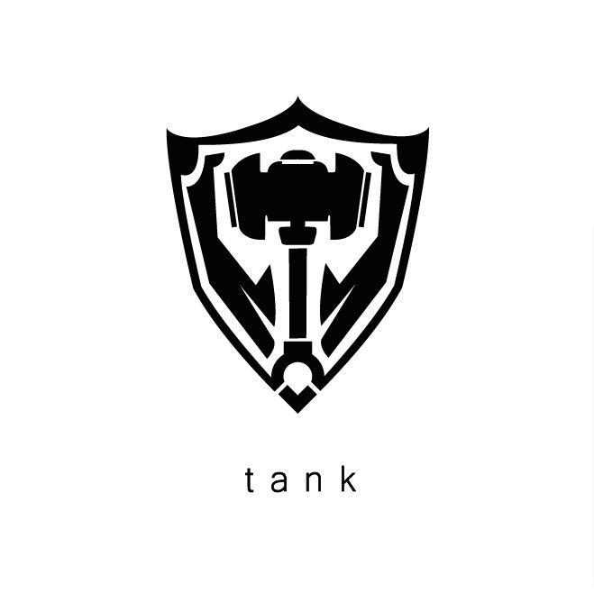 League of Legends Tank icon