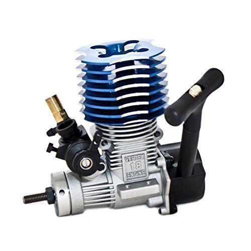 HSP 02060 BL VX 18 Mesin 2.74cc Tarik Starter biru untuk RC 1/10 Nitro Mobil Buggy Truk