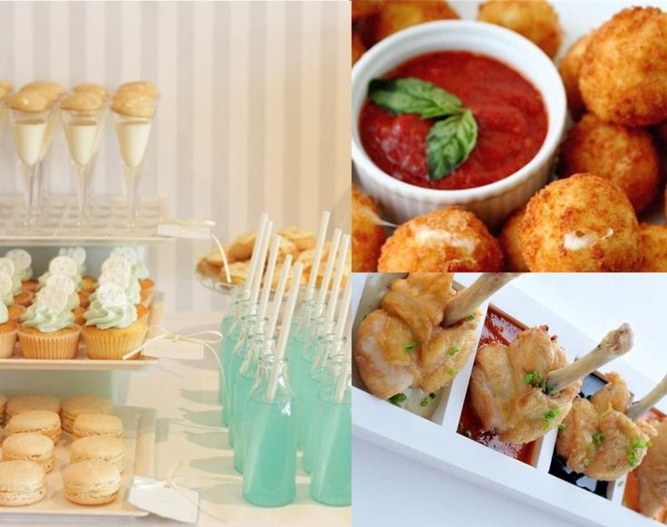 Like The Drink Idea Mozzarella Balls Find This Pin And More On Wedding Reception Food