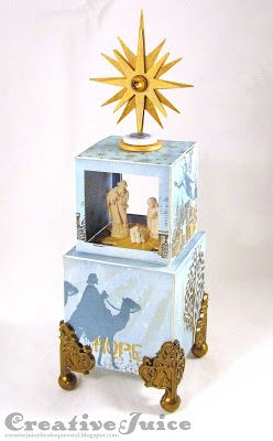Lisa Hoel – Nativity ATB tower for Eileen Hull