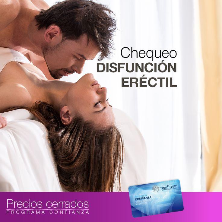 A partir de ciertas edades es frecuente tener problemas sexuales en la cama. Infórmate de nuestros #PreciosCerrados sobre el Chequeo #DisfunciónEréctil aquí.