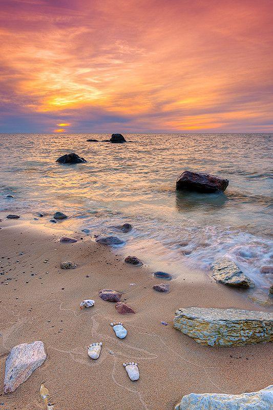 Victoria Beach Sunset in Manitoba, Canada. Photo by Nebojsa Novakovic.