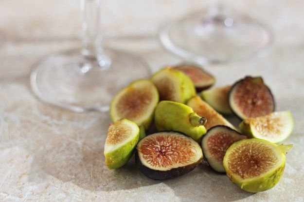 Fall Sangria with figs   Dessert for Two