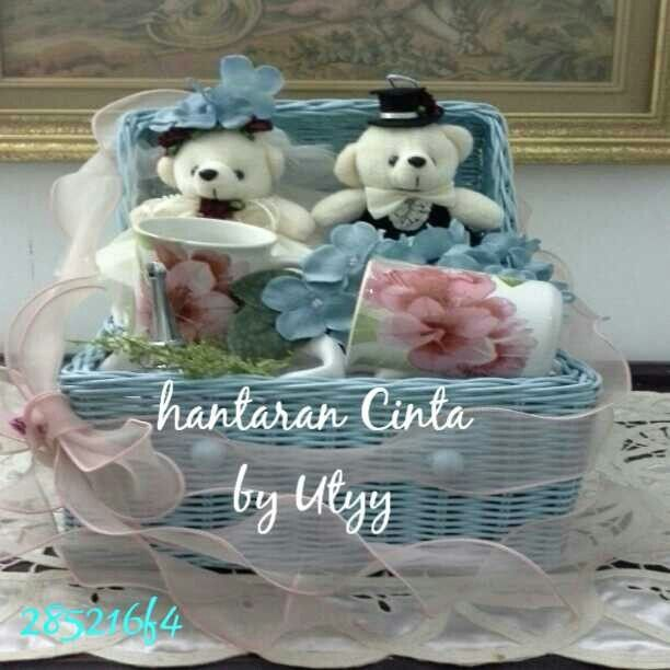 Everything can be beautiful with Hantaran Cinta by Utyy