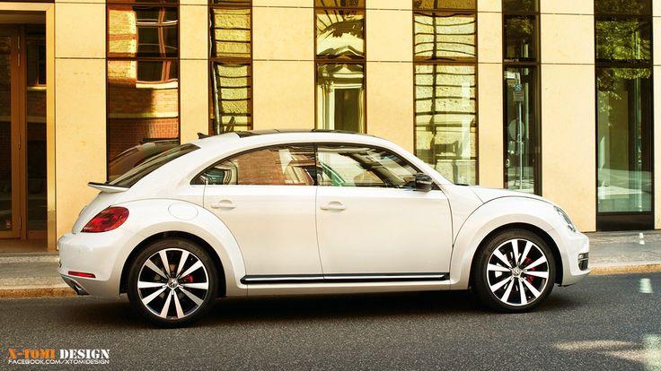 Vw Beetle Four Door Coupe Rendering By X Tomi Volkswagen