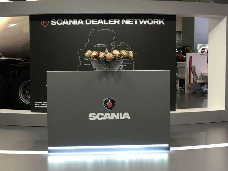 800sqm Custom stand for Scania Automechanika Exhibition