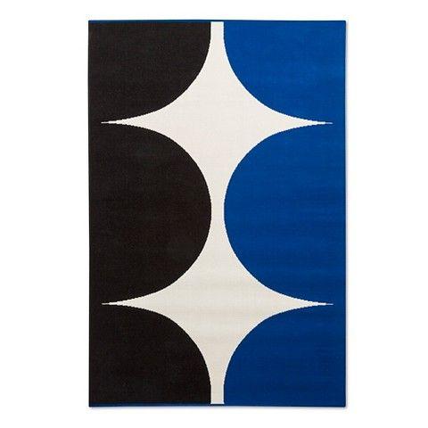 Marimekko for Target Outdoor Rug 5'x7' - Harka Print - Blue