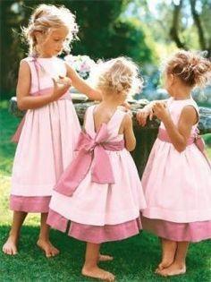 patron couture robe fille d'honneur 4