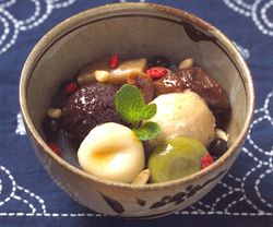 甘露七福神 巣鴨とげぬき地蔵横のマクロビオティックな甘味処