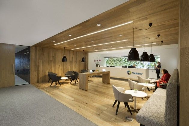 Gray Puksand have recently completed a new workspace for VicSuper in Melbourne, Australia.