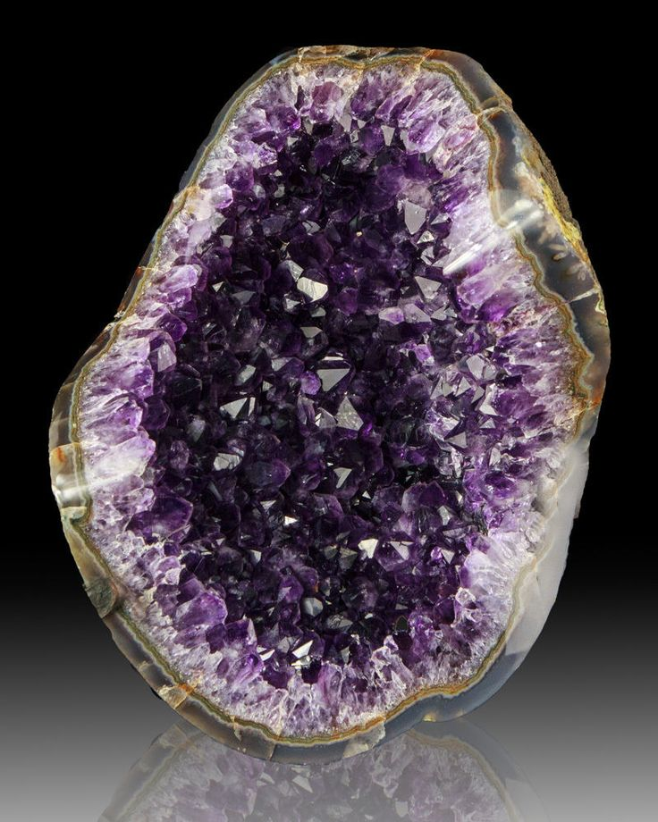 Love amethyst geodes. The way the crystals reflect light is awesome and the purple coloring make it an instant conversation piece