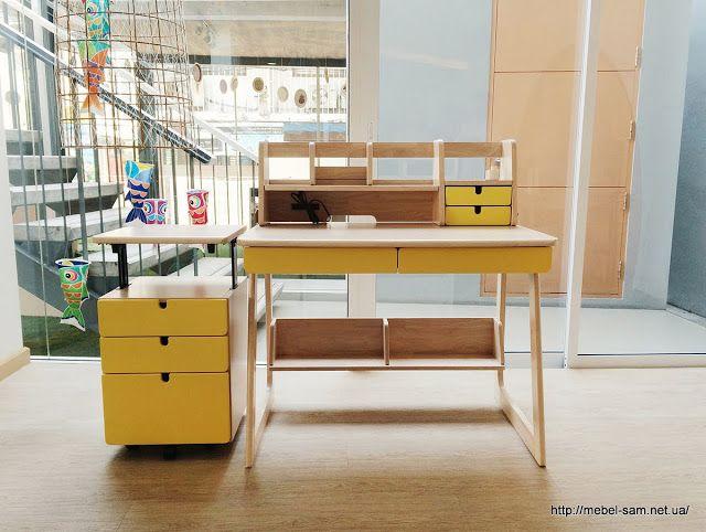 Детские рабочие столы от Kittipoom Songsiri