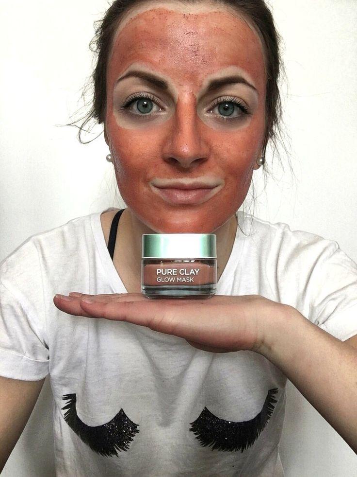 L'Oréal Pure Clay mask - detox, purity and glow masky - zajímá vás recenze na tyto úžasné pleťové masky? výhody i nevýhody na mém blogu! Tak čtěte dál!