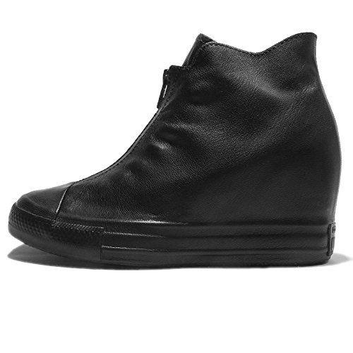 Wide Foot Swirly, Escarpins Bout Fermé Femme, Noir (Black 1), 40 EUNew Look