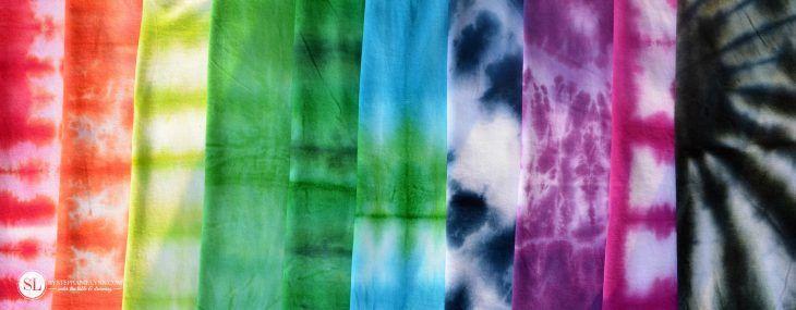 Tie Dye T-Shirt Folding Techniques   10 vibrant tie dye shirt patterns