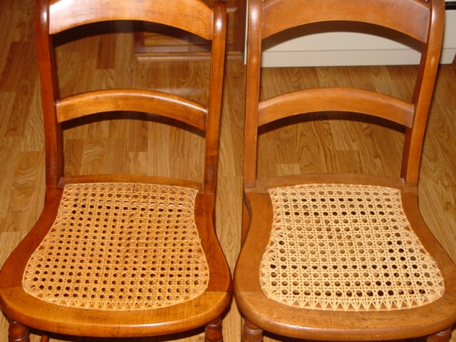 70's remember the caned chairs?