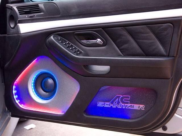 Installed in the UK, this is a 5-Series BMW featuring a 3-way Morel Supremo speaker setup.