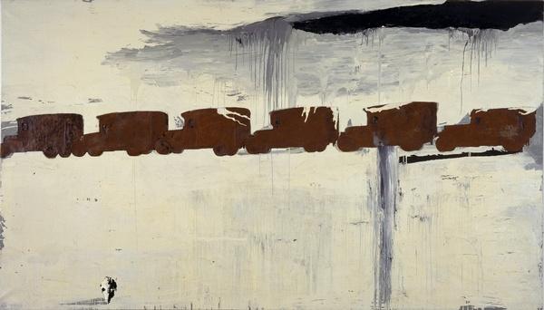 Enzo Cucchi, Sans titre, Peinture - CAPC, Bordeaux, France