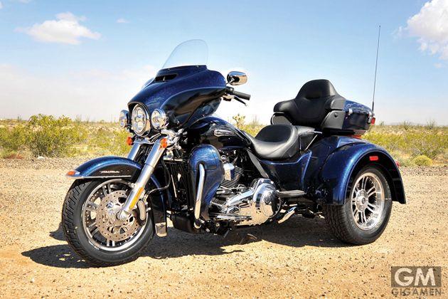 ハーレーの3輪バイクがカッコイイ 値段は400万