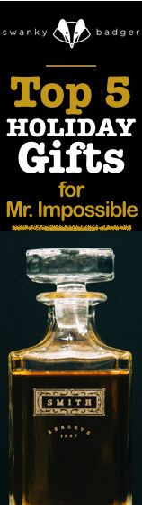 Holiday Gifts for Guys can be a giant pain! They're just so hard to shop for. Check out our Guide to 5 great choices for Mr. Impossible.