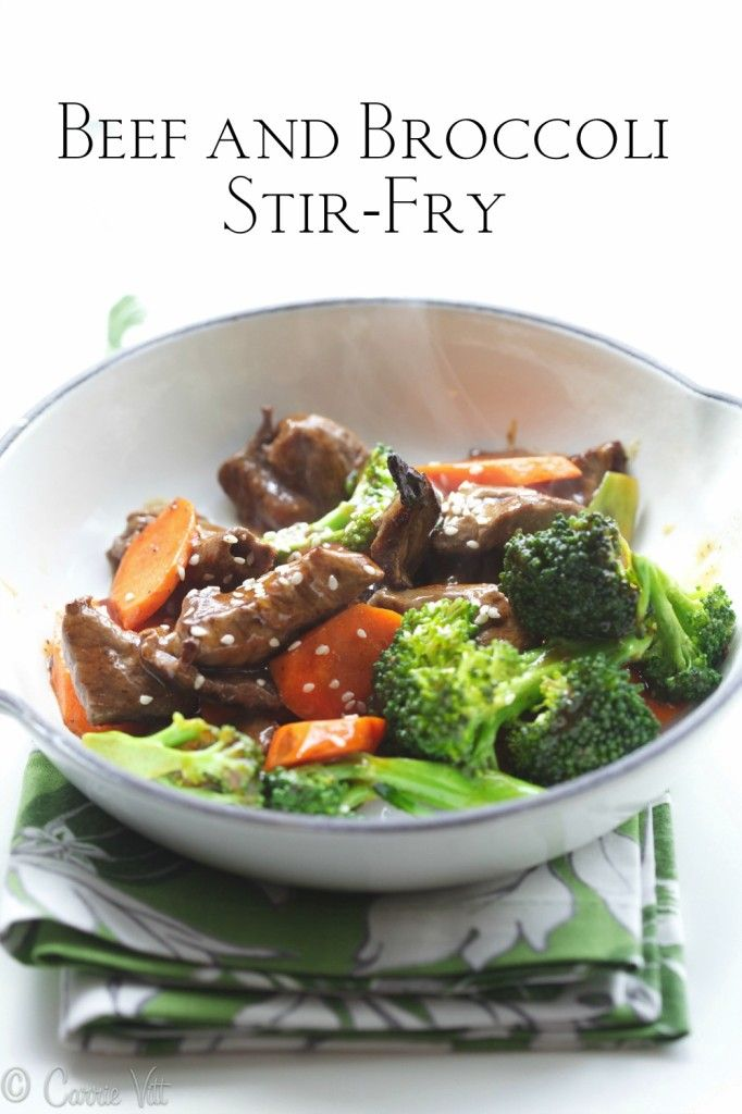 Beef and Broccoli Stir-Fry (paleo, grain free) | Food | Pinterest