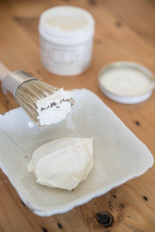 Milk Paint - White Wax