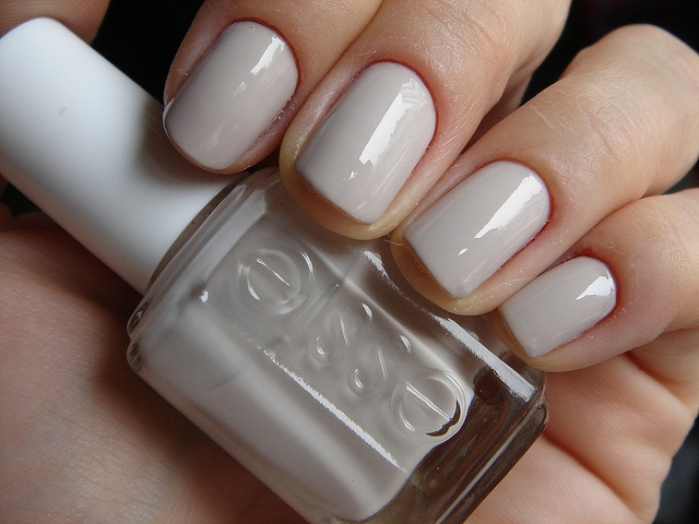 essie body language- very pretty color for work