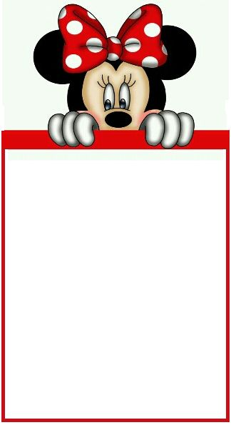 672 best images about minnie mouse printables on pinterest