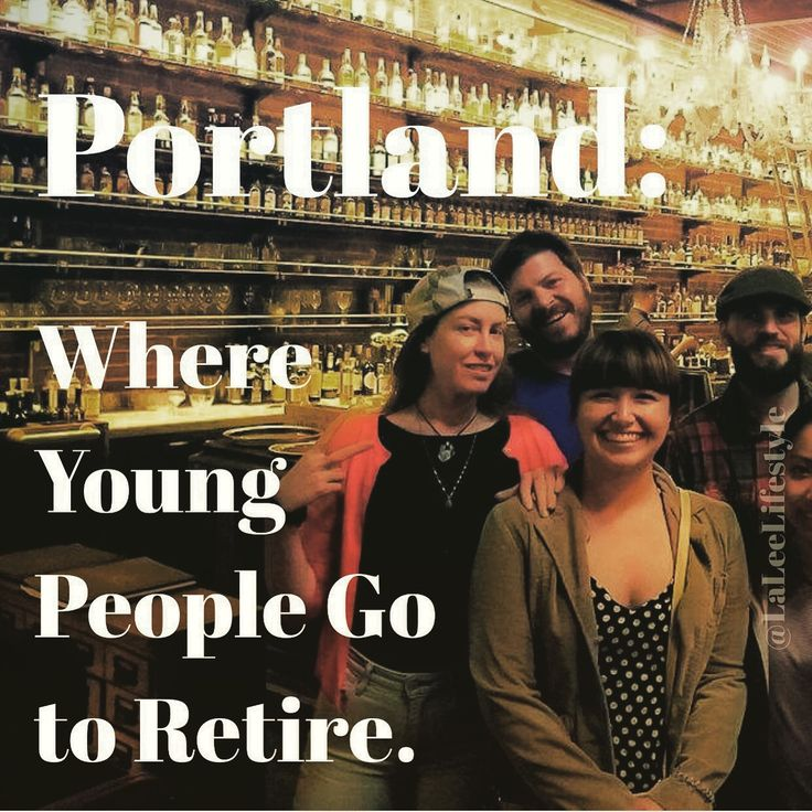 Great food & drinks, a thriving art culture, local & community minded: Portland is quickly becoming a very attractive place to be for many young people.