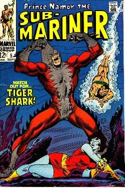 Sub-Mariner #5 [Marvel Comic] � Dreamlandcomics.com Online Store