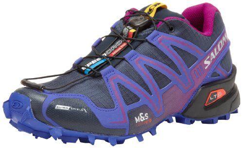 Salomon Women's Speedcross 3 CS W Trail Running Shoe,Deep Blue,5 M US $145.00 #Salomon #Shoes