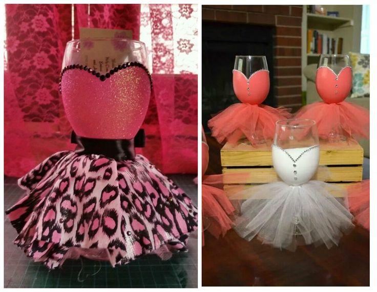 18 Ideas para decorar copas para bodas y fiesta de quince años