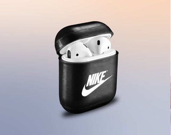 Inspired By Nike Airpod Case Nike Airpods Leather Nike Vintage