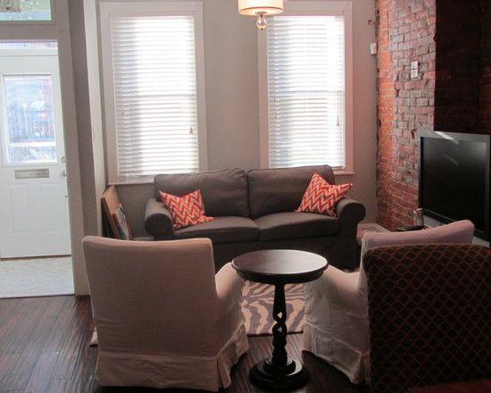 Best Row Homes Images On Pinterest Living Room Ideas Living - Row house living room design