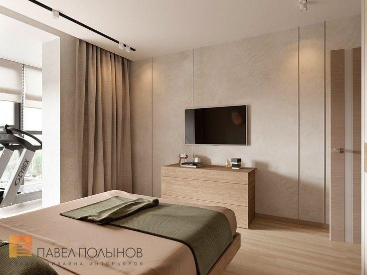 Фото интерьер спальни из проекта «Дизайн-проект квартиры 72 кв.м., ЖК «Дом на Выборгской», современный стиль»