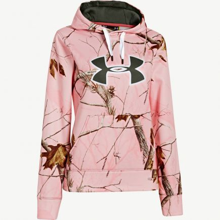 Women's Clothing :: Realtree Girl :: Women's Under Armour AP Pink Big Logo Hoodie