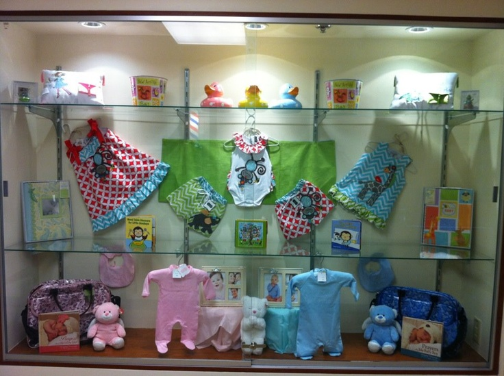 Baby Display Window Featuring Fun Clothes