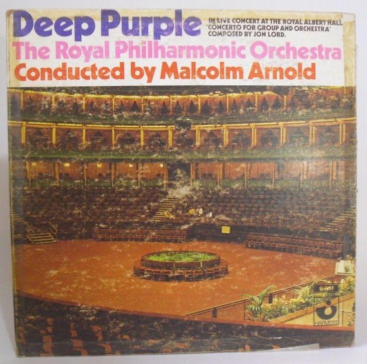DEEP PURPLE-THE ROYAL PHILHARMONIC ORCHESTRA LP hecho en Venezuela